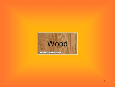 1 Wood. 2 Building Materials-Lumber Definitions: –Boards: Wooden members less than 1 inch thick. –Lumber: Wooden members that measure from 1 to 6 inches.
