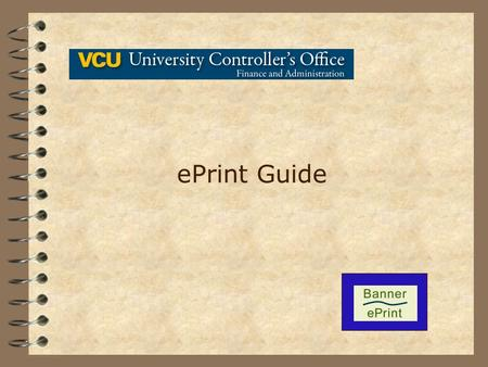 EPrint Guide. 1 ePrint is a web based report distribution and archiving system. Using a web browser and the free Adobe Acrobat Reader®, ePrint users can.