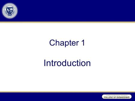 Chapter 1 Introduction. Introduction Using statistical methods to improve quality –Identifying trouble spots and their causes –Predicting major problems.