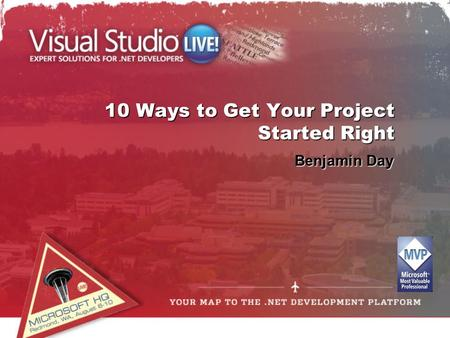 10 Ways to Get Your Project Started Right Benjamin Day.