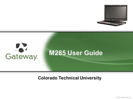 an introduction to the colorado technical university Looking at colorado technical university - online colorado technical university - online's admissions statistics can help you find out how you measure up to the rest.