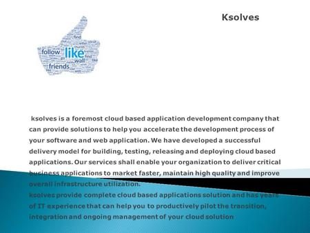 Ksolves  ksolves has a strong presence across the globe especially India, Australia, Singapore, USA and UK. ksolves e-commerce proposal is a comprehensive.