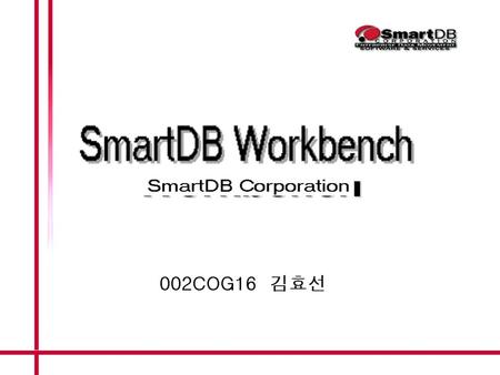 SmartDB Workbench. ETL Software SmartDB Workbench is a visual design and implementation tool set for data movement to client/server financial applications,