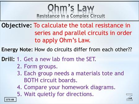lab report on series and parallel circuit Alternate branches of a circuit series and parallel circuits  the complete physics with vernier lab manual includes 35 labs  23 series and parallel circ.