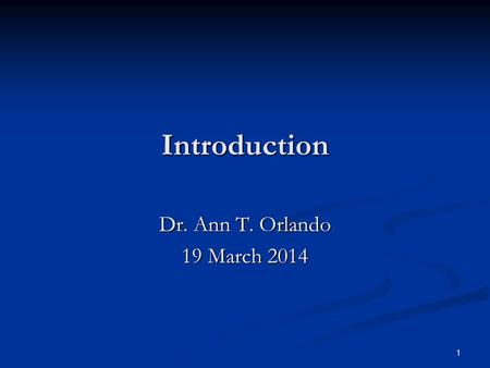1 Introduction Dr. Ann T. Orlando 19 March 2014. 2 Introduction Who are the Church Fathers Who are the Church Fathers Liturgical Calendar Liturgical Calendar.