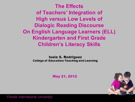 College of Education: Teaching and Learning