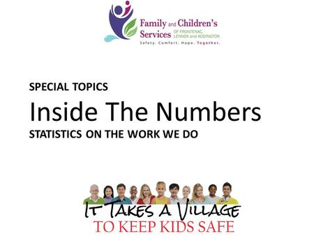 613-545-3227 855-445-3227 CALL NOW SPECIAL TOPICS Inside The Numbers STATISTICS ON THE WORK WE DO.
