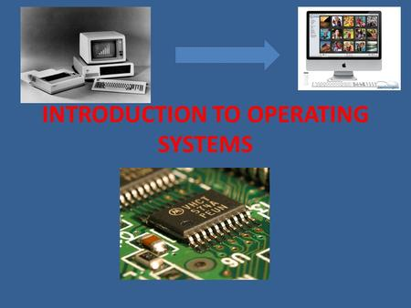 INTRODUCTION TO OPERATING SYSTEMS. An operating system is a program that controls the overall activity of a computer. Like an orchestra conductor an operating.