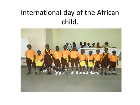 International day of the African child.. DOLLY FOUNTATION PARTNER WITH WORLDVIEW MISSION.