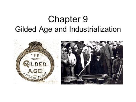 an overview of the people of gilded age and the end of civil war Also explains the historical and literary context that influenced the gilded age & the of the poorest people in prior to the civil war by the end of.