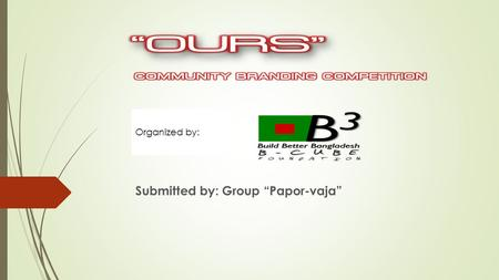 "Submitted by: Group ""Papor-vaja"" Organized by:. KATAN SHAREE Our Product Is-"