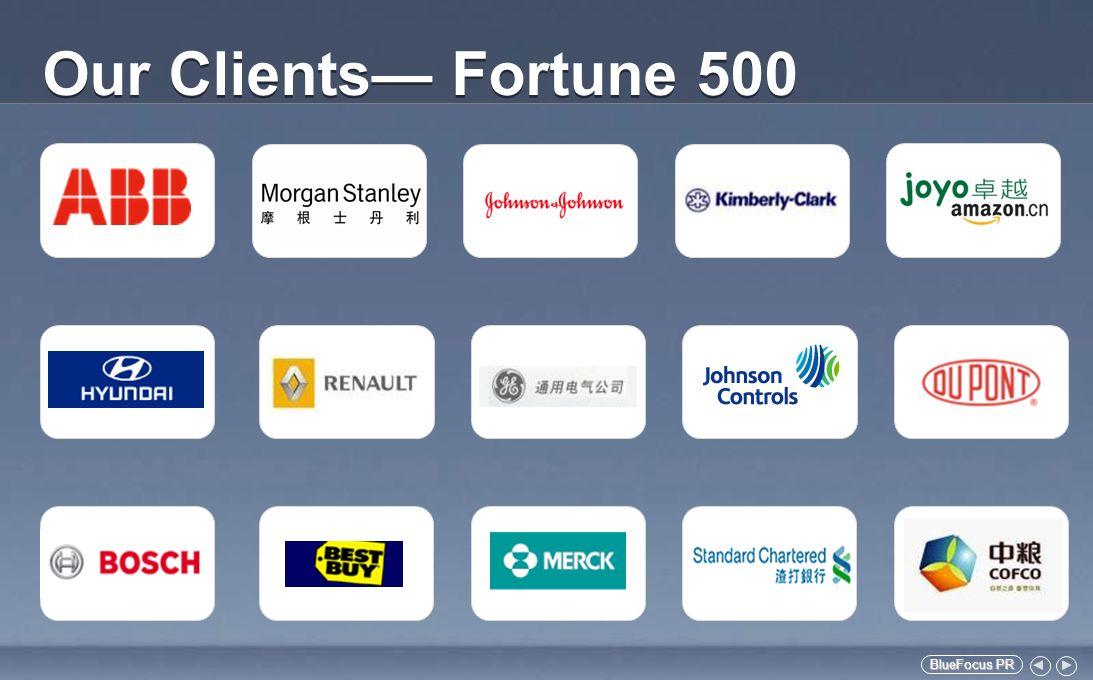 BlueFocus PR BlueFocus PR Our Clients