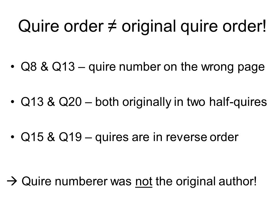 Many quire number puzzles.