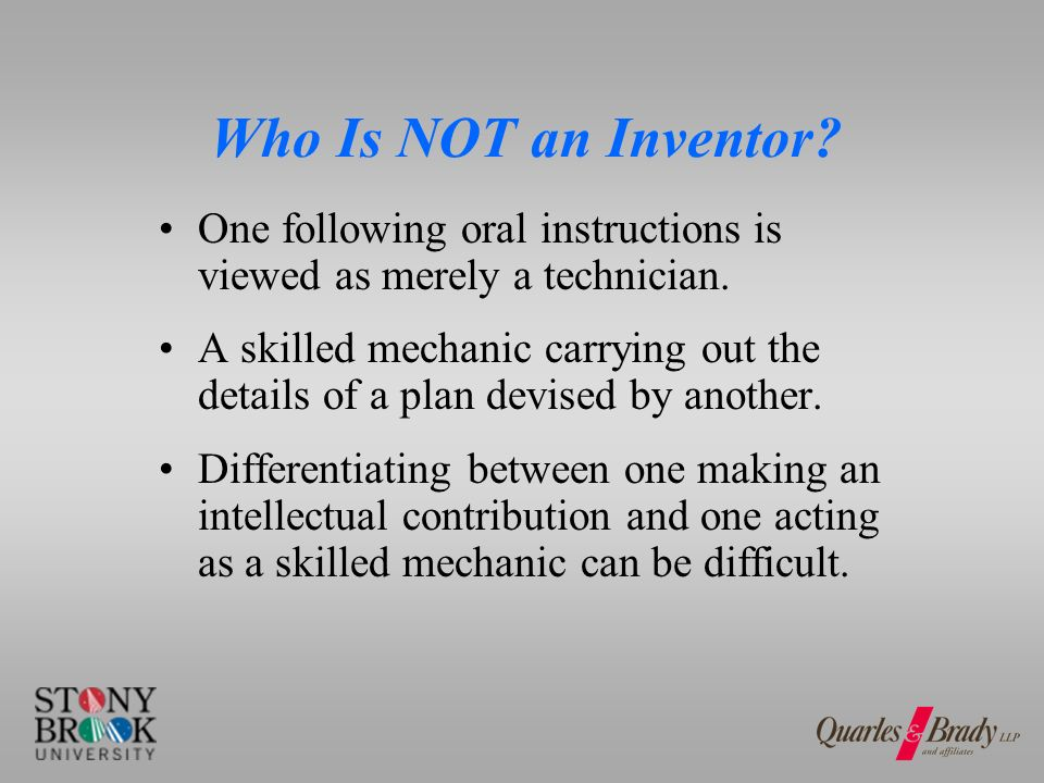 Who is a Joint Inventor.