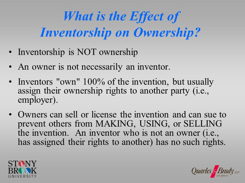 Who Is An Owner? Does inventor have an obligation to assign?