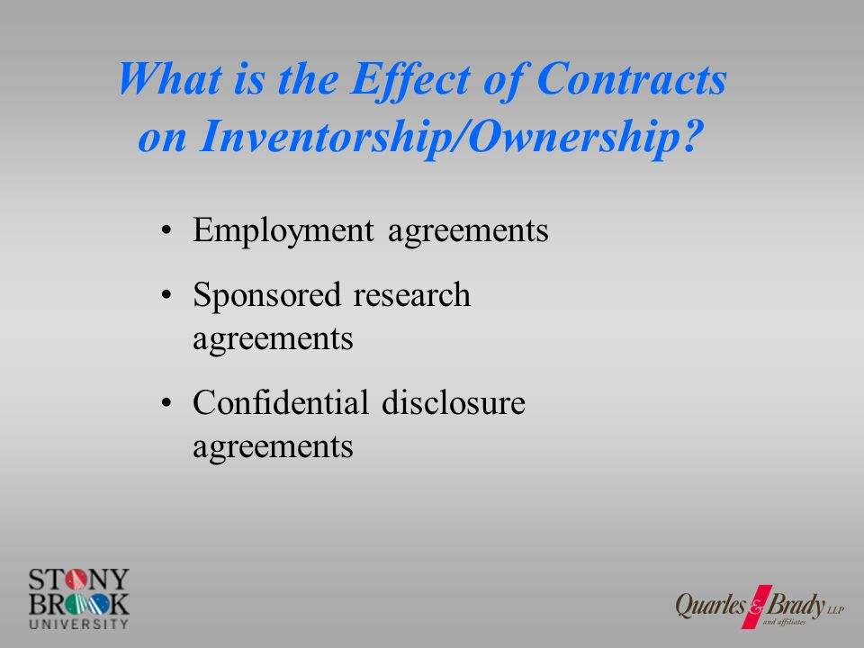 Who Determines Inventorship.When are outside counsel useful and when are they not useful.