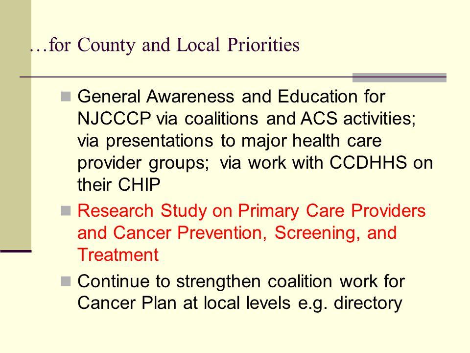 Regional approach in Burlington, Camden, and Gloucester Counties