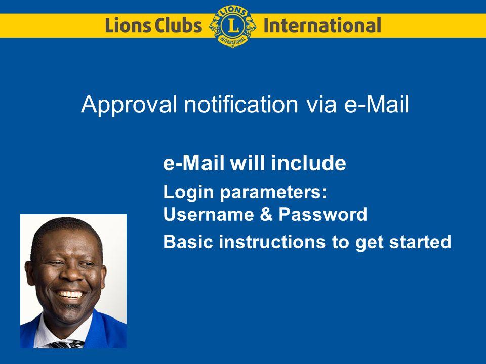 Log in at new login page www.LionWAP.org/eclub