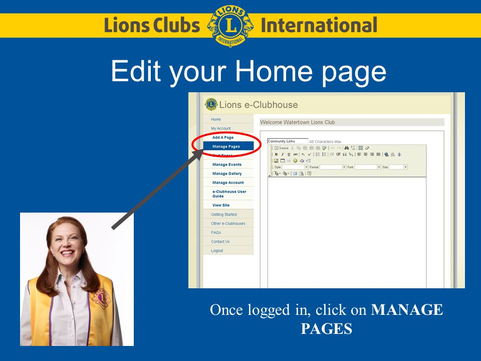 Pick HOME PAGE