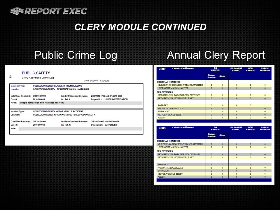 Permit Module: Track multiple contacts and vehicles associated with a permit People can register for a permit on-line and information will transfer into a permit if approved Key Tracking: Easily track the check out and check in of keys Reports to track key history, keys overdue, and more OTHER MODULES