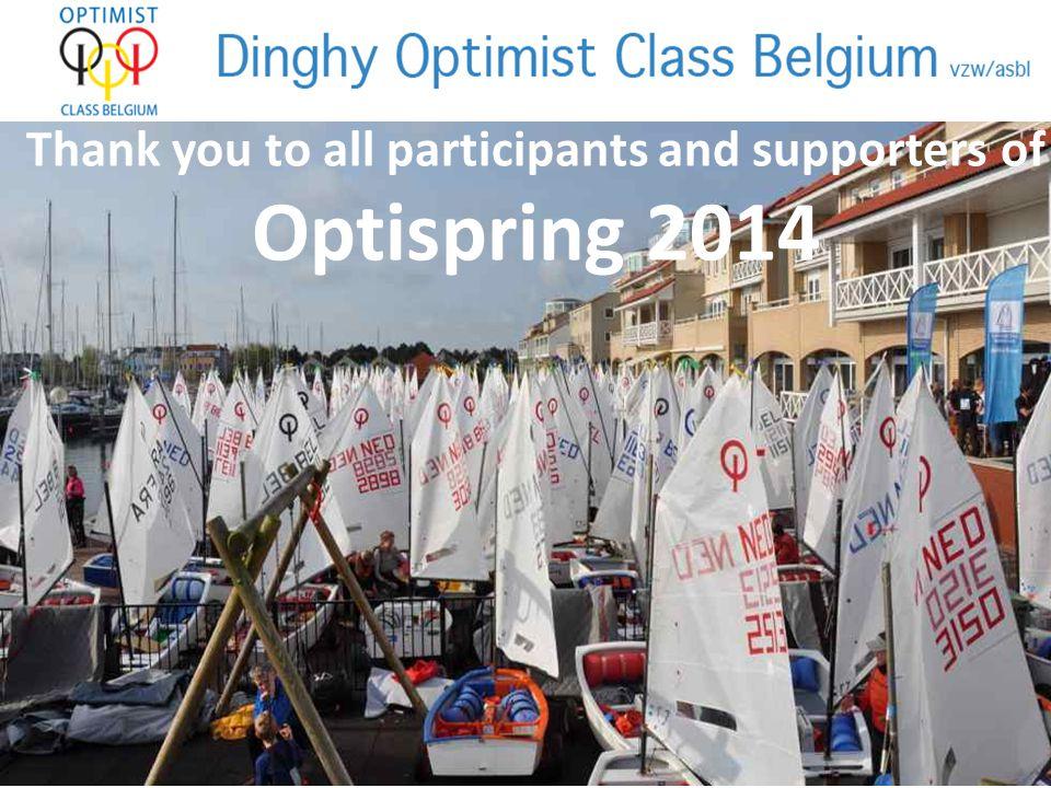 The winners of Optispring 2014