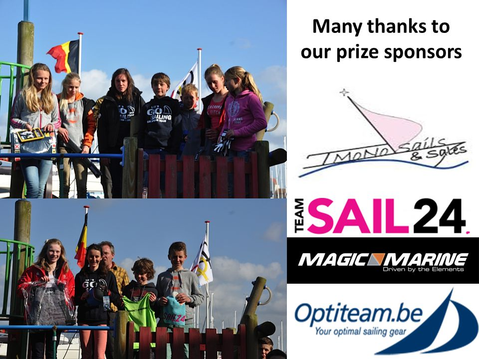 The Optispring organization thanks the RYCB rescue team and the OCN rescue team for the great support on the water.
