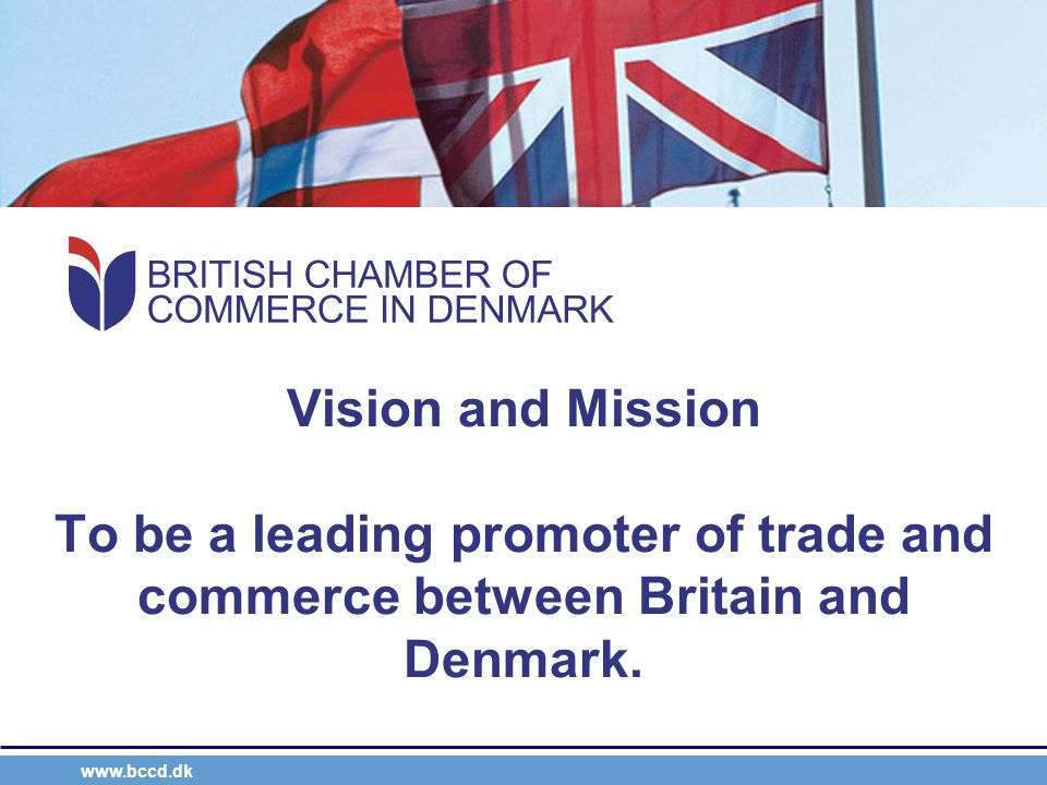 www.bccd.dk Event-driven Business through alliance Create networking opportunities