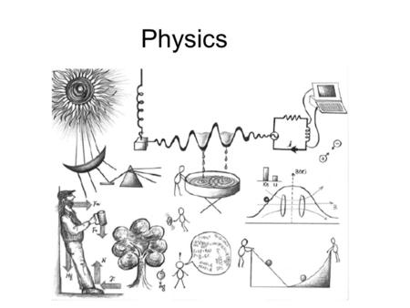 "Physics Etymology of the word ""Physics"" Physics comes from the Greek word ""  υσικά,"" title of one of Aristotle's book; it is an adjective meaning everything."