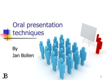 Oral presentation techniques By Jan Bollen 1. Agenda Situation Title Structure Agenda Storyline Production of slides Visual aids Practice Evaluation 2.