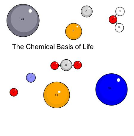 chemical structure from life