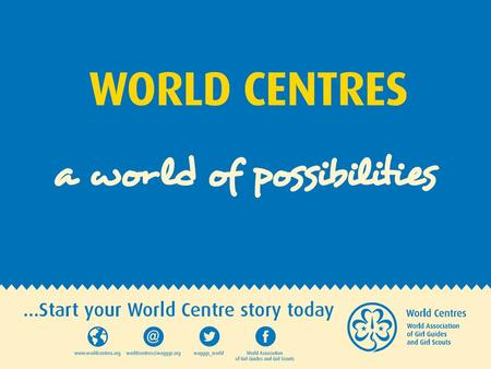 Experience Your World Centres!