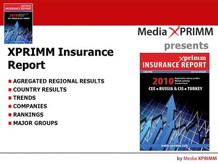 Presents XPRIMM Insurance Report AGREGATED REGIONAL RESULTS COUNTRY RESULTS TRENDS COMPANIES RANKINGS MAJOR GROUPS.