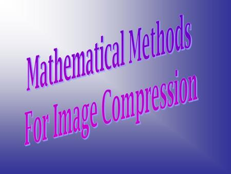 Compression is the reduction in size of data in order to save space or transmission time. And its used just about everywhere. All the images you get on.