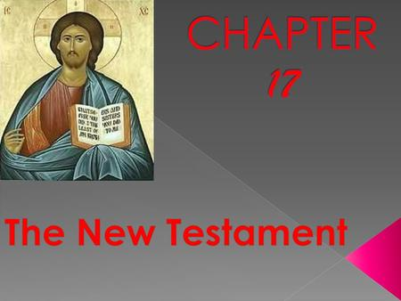  The New Testament does not replace the Old Testament: it fulfills the Old Testament  St. Augustine said that the New Testament is hidden in the Old,
