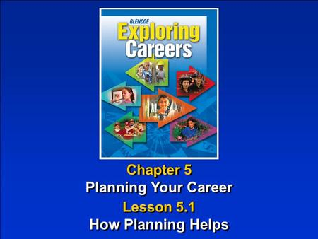 Planning Your Career How Planning Helps