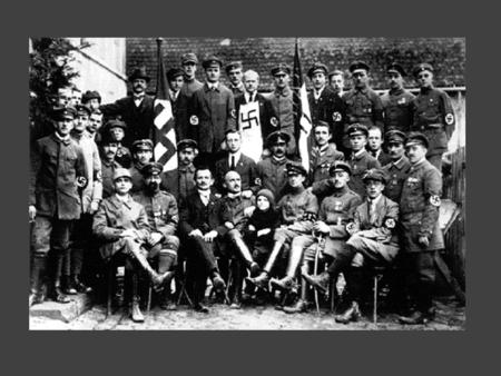 "The Nazi State and Terror:  The Nazis used terror and repression to force Germans to follow Nazi ideas.  Schutzstaffeln (""Guard Squadrons""), known as."