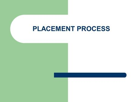 PLACEMENT PROCESS. Phases Aptitude Test Technical Test GD/Extempore Technical Interview HR Interview.