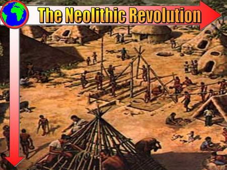 The Neolithic Revolution (8000BCE-3500BCE) Sometimes termed the Agricultural Revolution. Humans begin to slowly domesticate plant and animal stocks in.