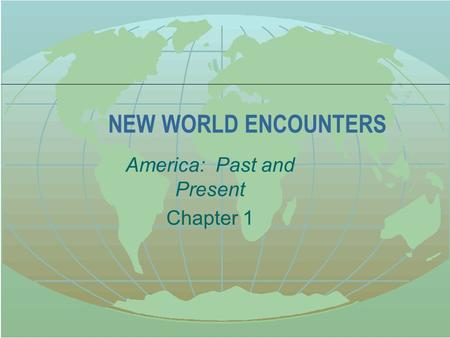 chapter 23 america past and present 30 videos play all alan brinkley's american history chapter videos adam norris the shape of data: distributions: crash course statistics #7 - duration: 11:23 crashcourse 97,213 views.