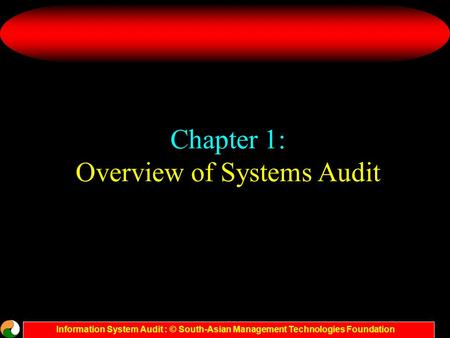 Overview of Systems Audit