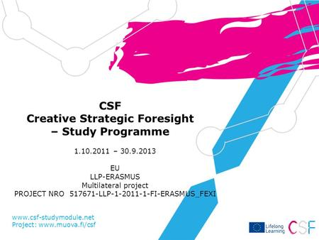 CSF Creative Strategic Foresight