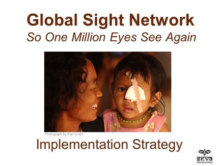 Global Sight Network So One Million Eyes See Again Photograph by Karl Grobl Implementation Strategy.