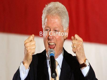 Bill Clinton. Election of 1992 Clinton (Dem.), Bush (Rep.) & Ross Perot (Independent) Main Issue: Bush's handling of economy Clinton wins.