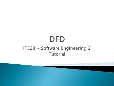 IT323 - Software Engineering 2 Tutorial 1. 0 The system 1.0 A Function 1.1 Activity of the function 1.1.1 Task 1.1.2 Task 1.1.3 Task 1.2 Another activity.