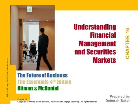 Understanding Financial Management and Securities Markets