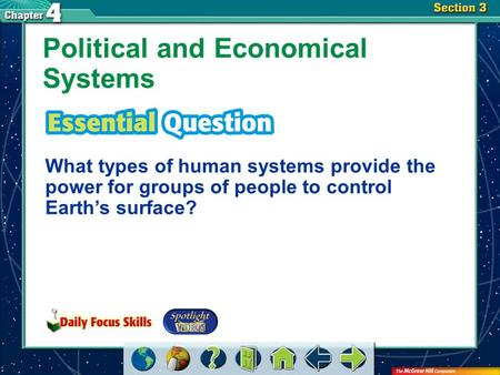 Political and Economical Systems