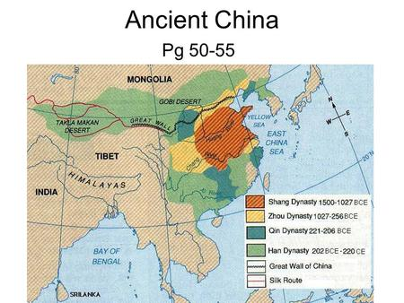 Ancient China Pg 50-55.