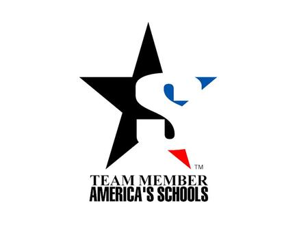 "2 Schools & Corporations unite in a partnership that helps to fund school programs ""America's Schools"" Program Under one recognized ""Symbol"""
