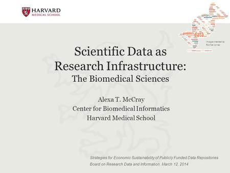 Scientific Data as Research Infrastructure: The Biomedical Sciences Strategies for Economic Sustainability of Publicly Funded Data Repositories Board on.