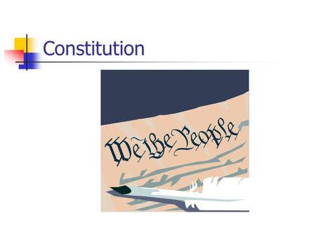 Constitution. What Happened After the War? 10 of the 13 states adopted their own constitutions. Soon after they started having conflicts. States were.